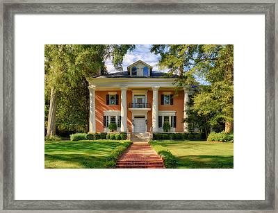 Georgia Home Framed Print by Frank J Benz