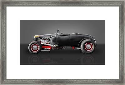1930 Ford Street Rod Framed Print by Frank J Benz