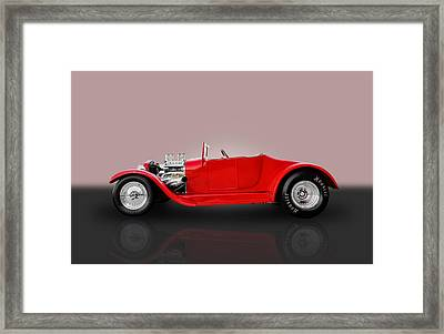 1927 Ford Model T Framed Print by Frank J Benz