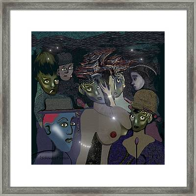 015 - Berlin In The 1920s - The Shining Framed Print by Irmgard Schoendorf Welch
