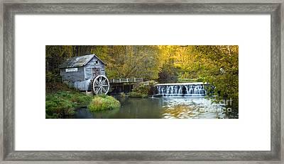 0291 Hyde's Mill Wisconsin Framed Print by Steve Sturgill