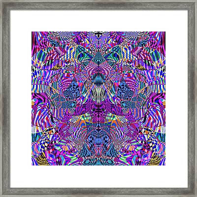 0476 Abstract Thought Framed Print by Chowdary V Arikatla