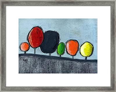 06 Tress Framed Print by Mirko Gallery