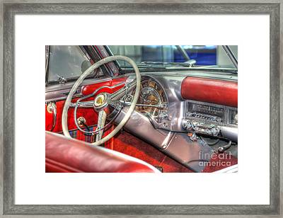 0671 Chrysler Classic Framed Print by Steve Sturgill
