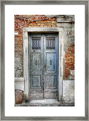 0778 Murano Italy Framed Print by Steve Sturgill