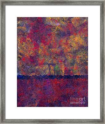 0799 Abstract Thought Framed Print by Chowdary V Arikatla