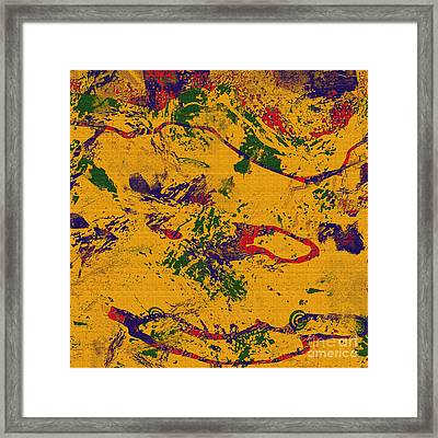 0859 Abstract Thought Framed Print by Chowdary V Arikatla