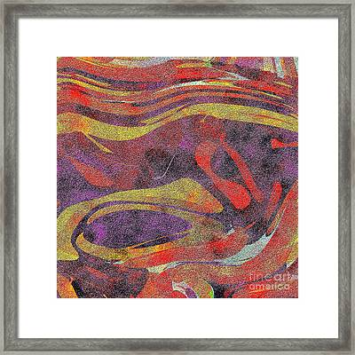 0906 Abstract Thought Framed Print by Chowdary V Arikatla