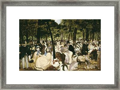 � Aisaeverett Collection Manet, �douard Framed Print by Everett