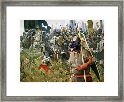 Cao Da Serra Da Estrela - Estrela Mountain Dog Art Canvas Print Framed Print by Sandra Sij