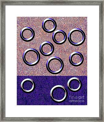 0235 Abstract Thought Framed Print by Chowdary V Arikatla