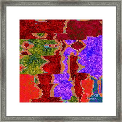0322 Abstract Thought Framed Print by Chowdary V Arikatla