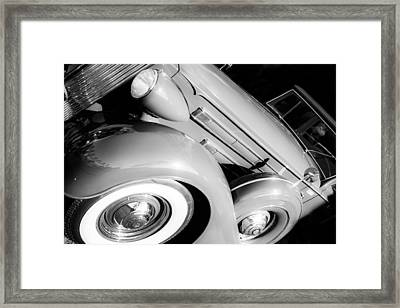 1937 Packard 1508 Dietrich Convertible Sedan Framed Print by Jill Reger