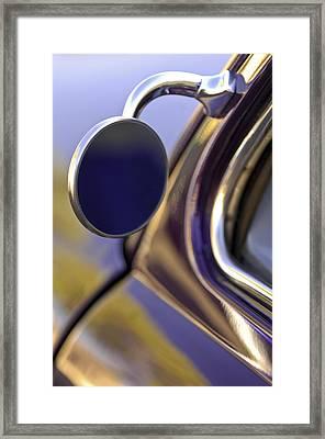 1950 Mercury Custom Lead Sled Side Mirror Framed Print by Jill Reger