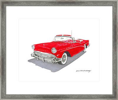 1957 Buick Special Convertible Framed Print by Jack Pumphrey