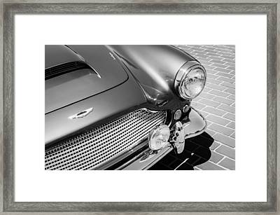 1960 Aston Martin Db4 Series II Grille Framed Print by Jill Reger