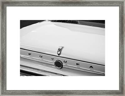 1963 Ford Falcon Futura Convertible  Rear Emblem Framed Print by Jill Reger