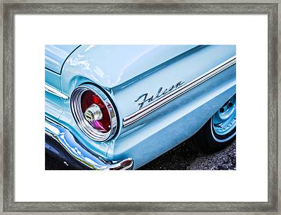 1963 Ford Falcon Futura Convertible Taillight Emblem Framed Print by Jill Reger