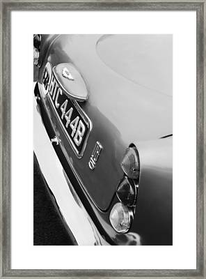 1964 Aston Martin Db5 Coupe' Taillight Framed Print by Jill Reger