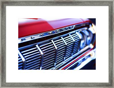 1964 Plymouth Savoy Framed Print by Gordon Dean II