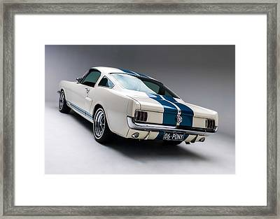 1966 Mustang Gt350 Framed Print by Gianfranco Weiss