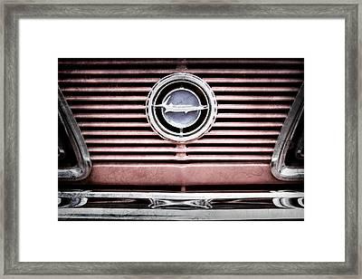 1966 Plymouth Barracuda - Cuda - Emblem Framed Print by Jill Reger