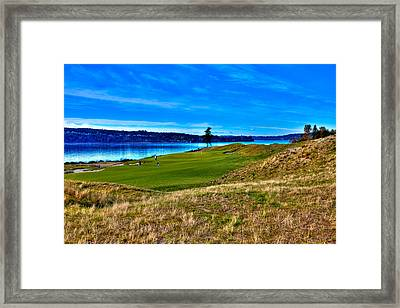 #2 At Chambers Bay Golf Course - Location Of The 2015 U.s. Open Championship Framed Print by David Patterson