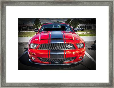 2007 Ford Mustang Shelby Gt500 427  Framed Print by Rich Franco