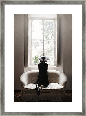 40s Lady Framed Print by Joana Kruse