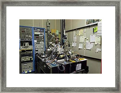 'a Boy And His Atom' Framed Print by Ibm Research
