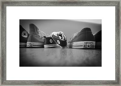 A Converse Family Framed Print by Mountain Dreams