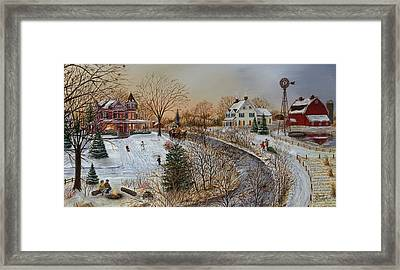 A Country Christmas Framed Print by Doug Kreuger