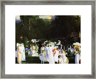 A Day In June Framed Print by Celestial Images