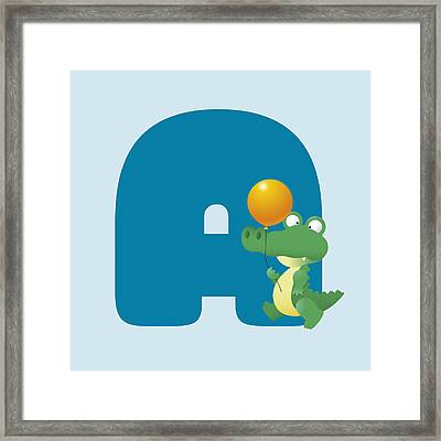 A Framed Print by Gina Dsgn