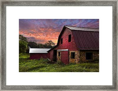 A New Start Framed Print by Debra and Dave Vanderlaan