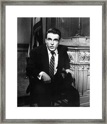 A Place In The Sun, Montgomery Clift Framed Print by Everett
