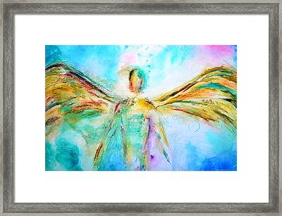 A Story Of Love Framed Print by Ivan Guaderrama