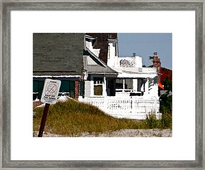 A Summer Place Framed Print by Ira Shander