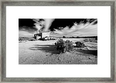Abandoned Homestead  Framed Print by Bill  Robinson