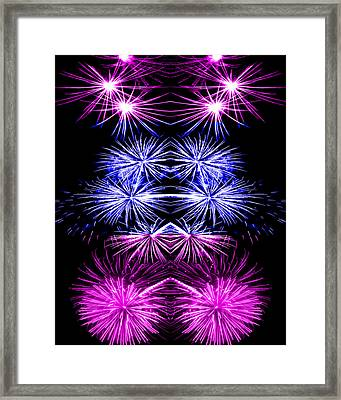 Abstract 135 Framed Print by J D Owen