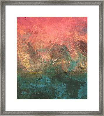 Abstract Print 2 Framed Print by Filippo B