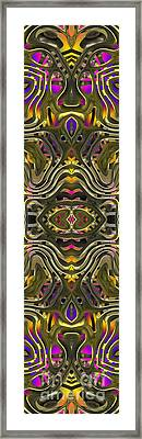 Abstract Rhythm - 28 Framed Print by Hanza Turgul