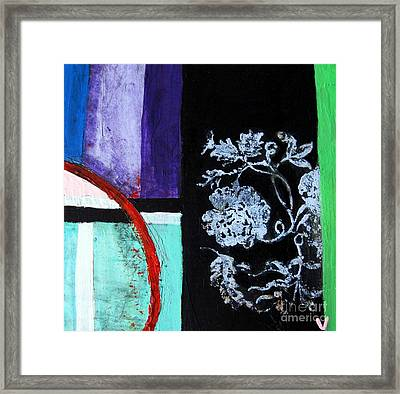 Abstract Framed Print by Venus
