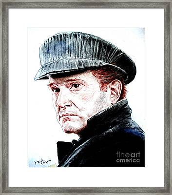 Actor And Former Pro Wrestler In The Wrestling Hall Of Fame Hank Garrett In Three Days Of The Condor Framed Print by Jim Fitzpatrick