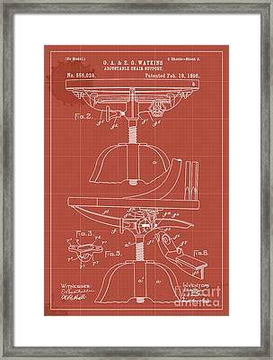Adjustable Chair Support - Year 1896 Framed Print by Pablo Franchi