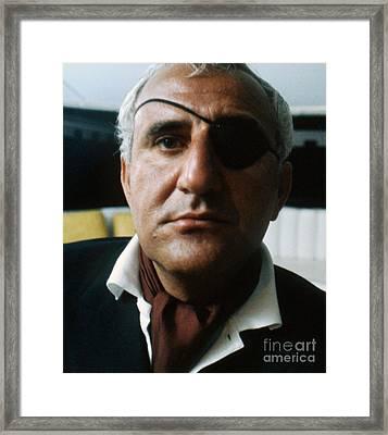 Adolfo Celi As Emilio Largo In Thunderball Framed Print by The Phillip Harrington Collection
