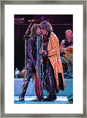 Aerosmith Framed Print by Don Olea