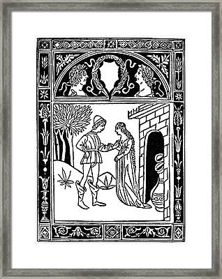 Aesop Thais & The Youth Framed Print by Granger