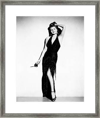 Affair In Trinidad, Rita Hayworth, 1952 Framed Print by Everett