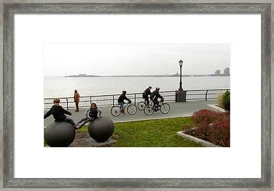 After Hurricane Sandy Framed Print by Randi Shenkman